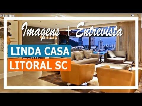 Linda casa no litoral catarinense - Projeto: FConsonni Arquitetura