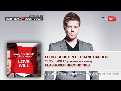 Corsten's Countdown #292 - Official Podcast