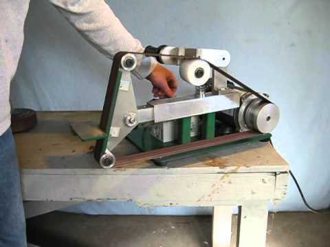 Zoomie Products Model 66 Belt Grinder