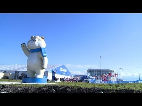 Sochi 2014 athletes' village unveiled
