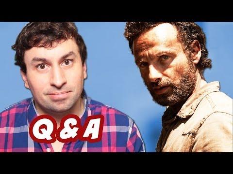 The Walking Dead Season 4 Part 2 Q&A - Ask Emergency