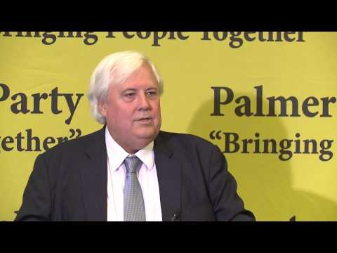 Clive Palmer - Press conference Q and A  - PUP WA Launch 21-03-14