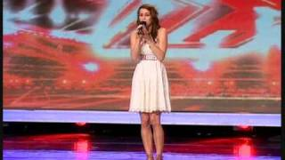 "X FACTOR 2009 LUCIE JONES SINGS ""I WILL ALWAYS LOVE YOU"