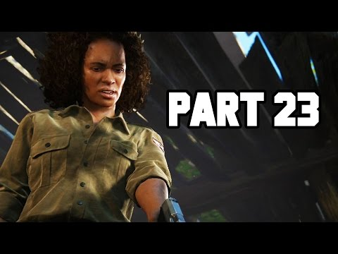 THE BIG LIE!! Uncharted 4 Gameplay Walkthrough Part 23 - Chapter 15 (PS4 1080p HD)