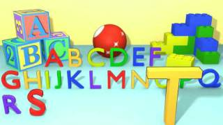 ABC Song Colorful Alphabet Letters A-Z Learning For Kids