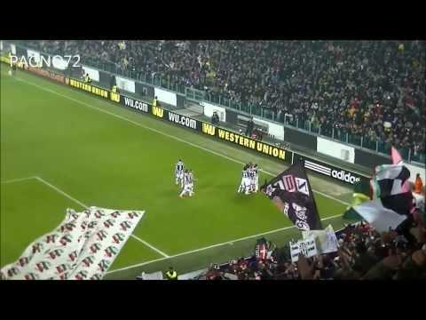 JUVENTUS Vs Fiorentina Goal Vidal 1-0