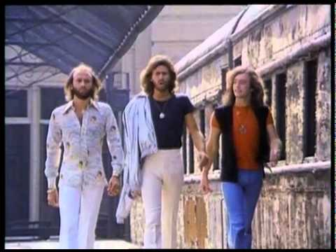Bee Gees - Stayin' Alive [HQ 3rd Version Extended Music Video 2011]