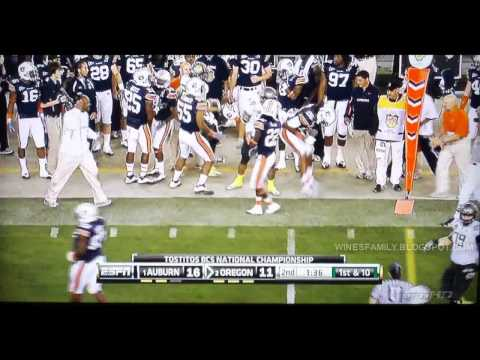 Oregon vs Auburn 2011 BCS Highlights