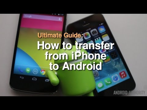 How to transfer from iPhone to Android – The Complete Guide!