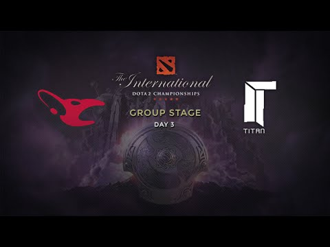 Mouz -vs- Titan, The International 4, Group Stage, Day 3