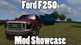 Farming Simulator 2013: Ford F250 King Ranch Mod