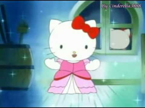 Hello Kitty becomes Cinderella MV ♥