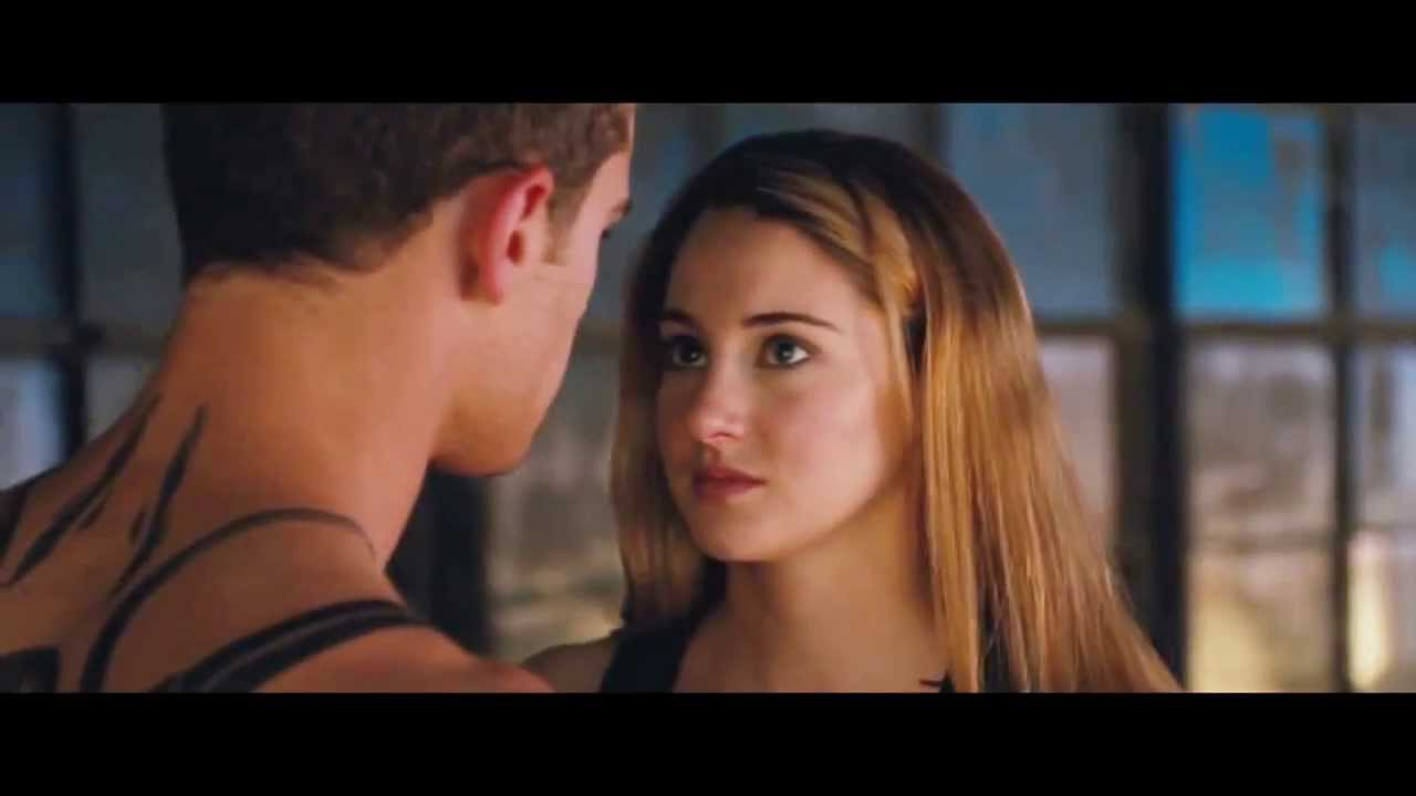 Tris & Four [DIVERGENT] - Kiss Me Slowly - YouTube