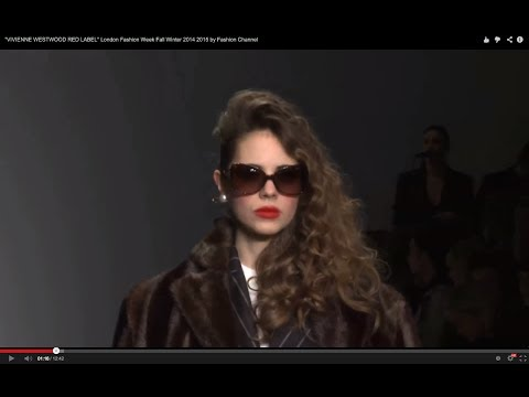 """VIVIENNE WESTWOOD RED LABEL"" London Fashion Week Fall Winter 2014 2015 by Fashion Channel"