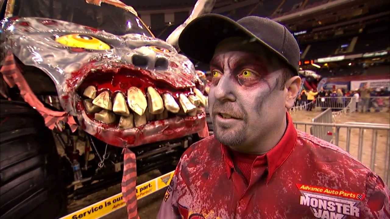 Monster Jam Zombie >> Monster Jam - Zombie Freestyle from New Orleans - Feb 23, 2013 - YouTube
