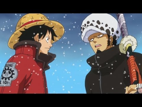 One Piece Episode 622 ワンピース Review - Luffy & Trafalgar Law Vs Kaido of the Beasts