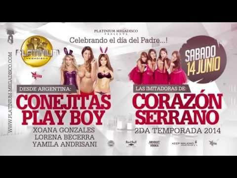 Desde Argentina LAS CONEJITAS DE PLAYBOY / Desde Yo Soy CORAZÓN SERRANO 14/06/14
