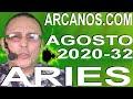 Video Horóscopo Semanal ARIES  del 2 al 8 Agosto 2020 (Semana 2020-32) (Lectura del Tarot)