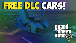 "GTA 5 Glitches ""FREE DLC CARS"" Car Duplication After"