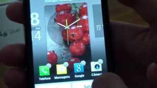 LG OPTIMUS L5 II DUAL E455 MUDANÇA DE TELA, MENSAGENS