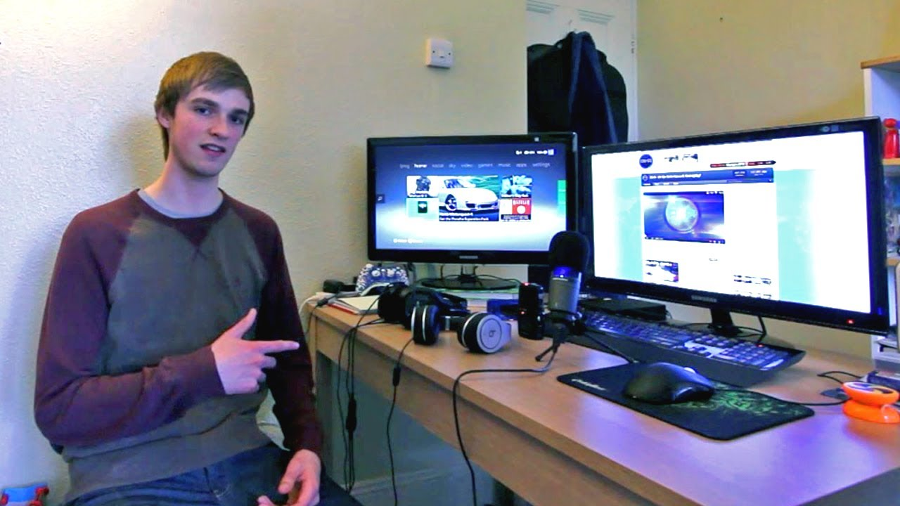 Ali A S Gaming Setup Amp Room Tour Epic Setup Youtube