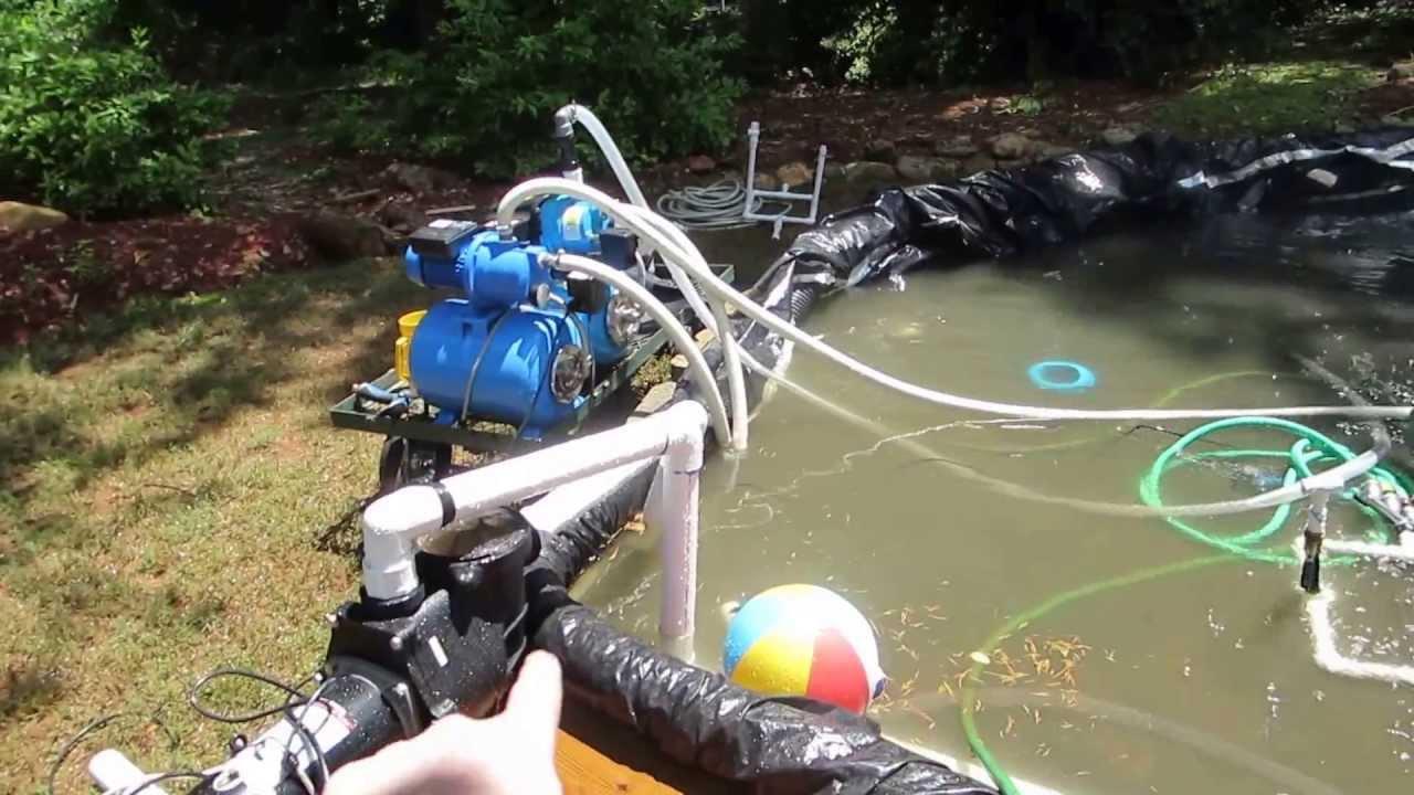 backyard water park youtube