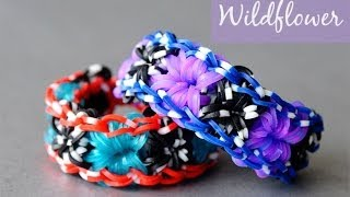 How To Make The Rainbow Loom Wildflower Bracelet