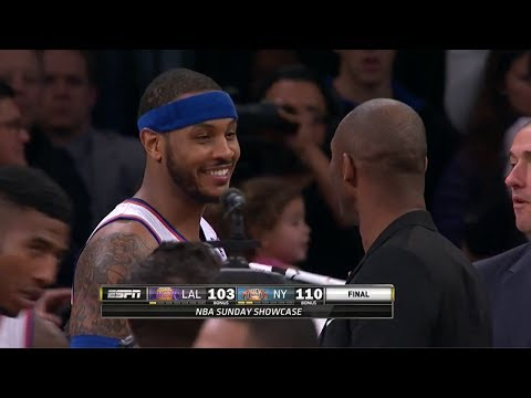 2014.01.26 - Carmelo Anthony Full Highlights vs Lakers - 35 Pts, 5 Assists
