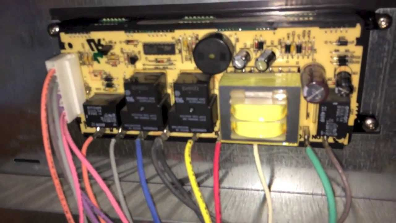 Repairing Electronic    Oven    Controller on Kenmore Elite    Oven
