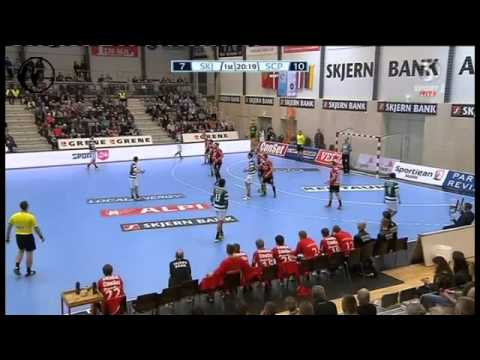 Andebol :: Skjern - 25 x Sporting - 32 de 2013/2014 EHF