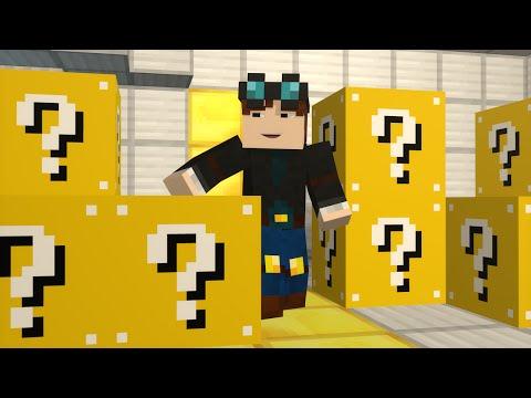 TDM Lucky Block Mod (Minecraft Fan Animation)