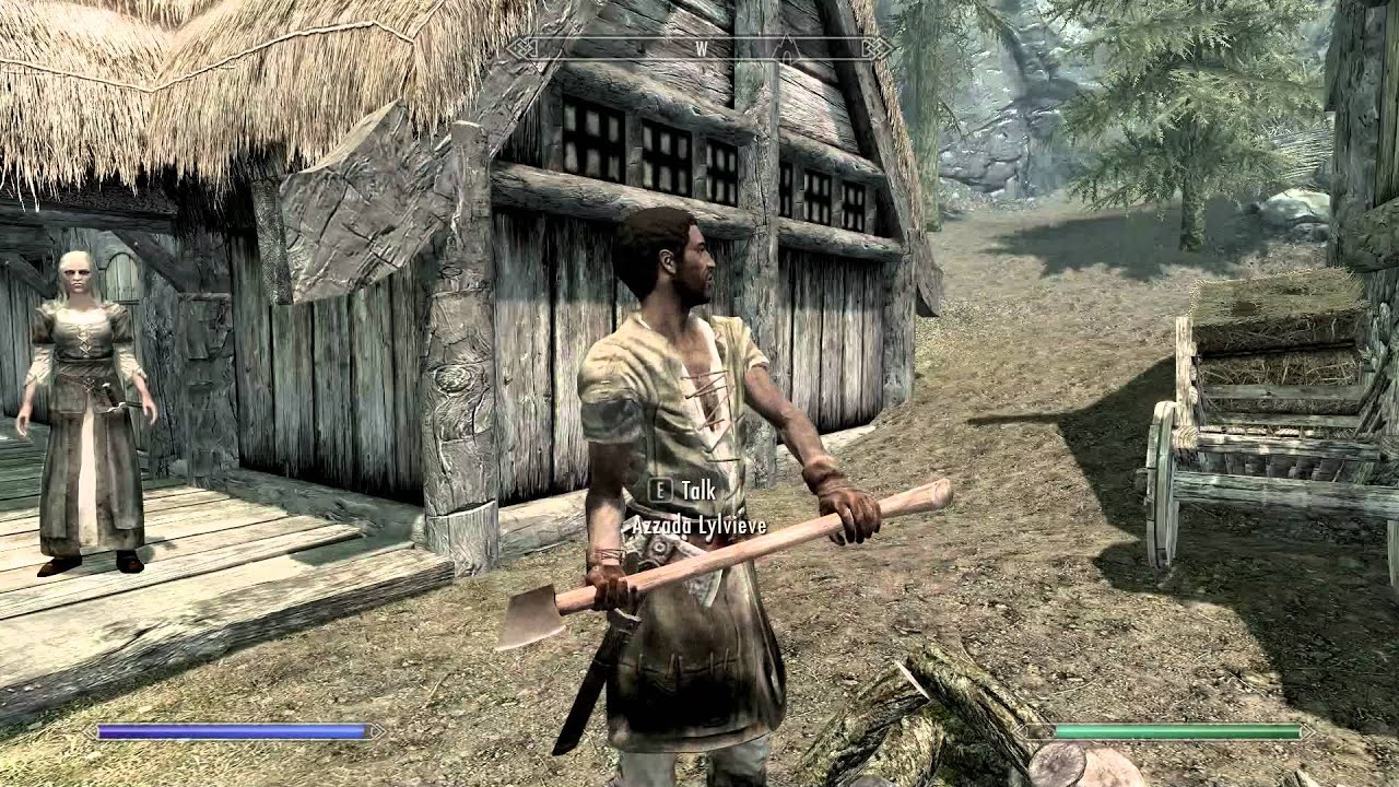 skyrim how to get moth priest swords
