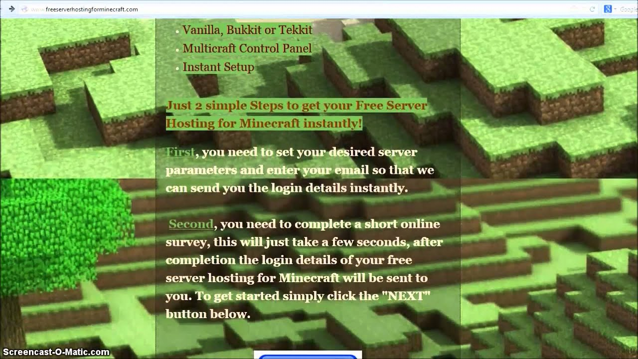 Как купить сервер через хостинг в майнкрафт 1 8 8