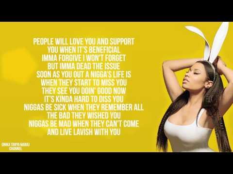 Nicki Minaj - Pills N Potions (Lyrics On Screen) 2014