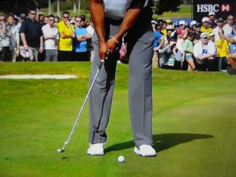 What Stricker Told Tiger + Tiger's Putting Stroke in Slow Motion
