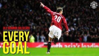 Every Goal | Ole Gunnar Solskjaer | Manchester United