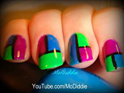 Color Drip Nails Dripping Paint Nail Art