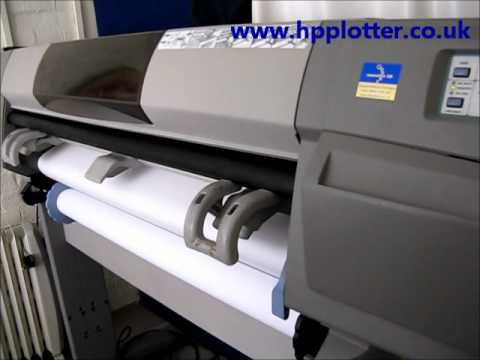 Designjet 5000/5500 Series - Replace printhead on your printer