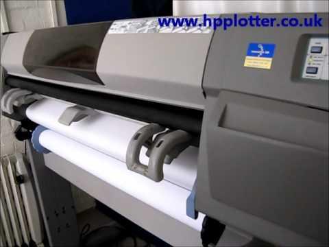 Designjet 5000/5500 Series - Replace printhead on your printer