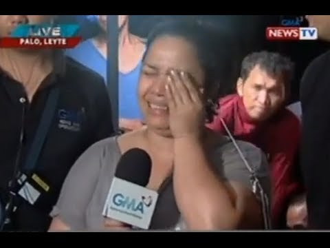 Jiggy Manicad and Love Añover report on Yolanda devastation in Leyte on