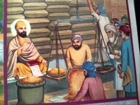Janam Sakhi Guru Nanak Dev Ji 009 - Sakhi Modikhane Di