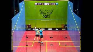 Squash : Kuwait PSA Cup 2013 SF Roundup: Ashour-Gaultier