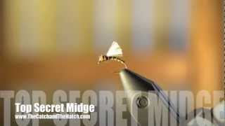 Fly Patterns Top Secret Midge Pattern