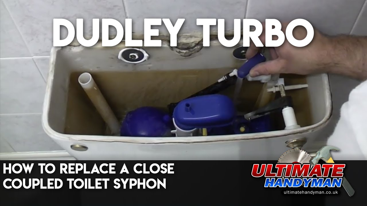 how to fix a running toilet with two buttons