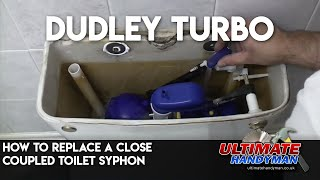 replacing a close coupled toilet syphon