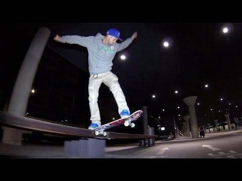 Ryan Sheckler en skate dans Munich