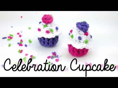 How To Crochet Celebration Cupcakes, Episode 400