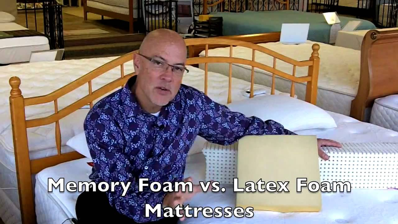 latex vs memory foam mattresses at best mattress columbia sc youtube. Black Bedroom Furniture Sets. Home Design Ideas