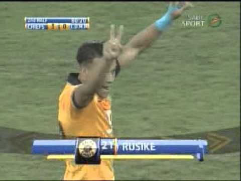 Matt Rusike Goal aginst LMMD 6 March 2014 .CAF Champions league