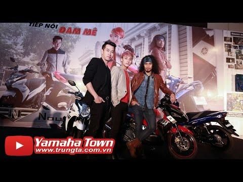 Sơn Tùng M-TP, Hồ Trung Dũng, Phạm Anh Khoa - Phong cách cùng Yamaha Nouvo Fi 2014
